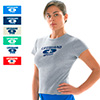 7090139 - Speedo Wmn&#39s Basic Lifeguard Tee